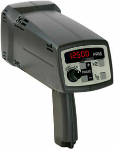 Shimpo Dt 725 Digital Stroboscope For Non contact Rpm Measurement