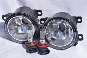 Glass Fog Driving Light Lamps W 2 Light Bulbs One Pair For 2015 2020 Renegade