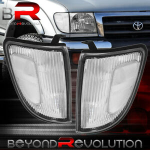 For Toyota Tacoma 98 00 4wd Corner Turn Signal Parking Light Lh Rh Chrome Clear