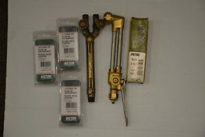 Genuine Victor Ca1350 100fc Cutting Torch Set Used