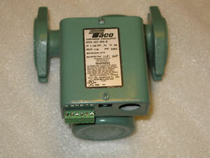 Brand New Taco 007 zf5 9 Cast Iron Priority Zoning Circulator Pump 1 25 Hp