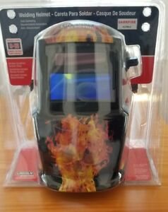 Lincoln K2799 2 Dark Fire Adf Auto Darkening Welding Helmet new