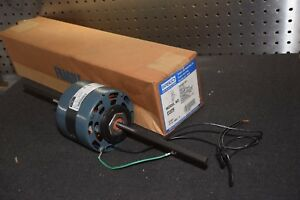Fasco D329 1 15 Hp 2 5a 115v 60hz 1550 Rpm Double Shaft Fan Coil Motor New