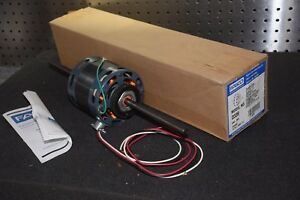 Fasco D339 1 8 1 12 Hp 2 0 1 4a 230v 1550 Rpm Double Shaft Fan Coil Motor New