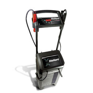 Diehard Platinum 275 Amp Wheeled Automatic Battery Charger Engine Starter