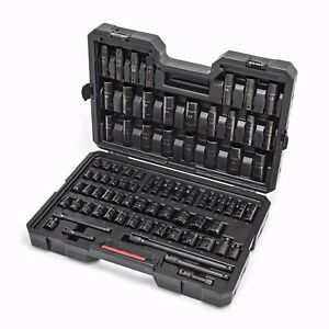 Craftsman 78 Piece 3 8 1 2 Inch Drive Impact Socket Set W Carrying Case