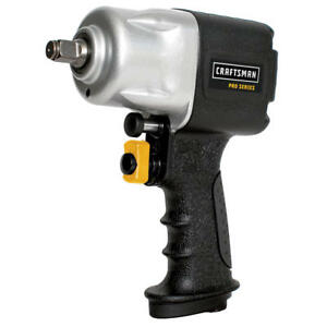 Craftsman 1 2 Inch Drive Pro Series Compact Composite Pneumatic Impact Wrench