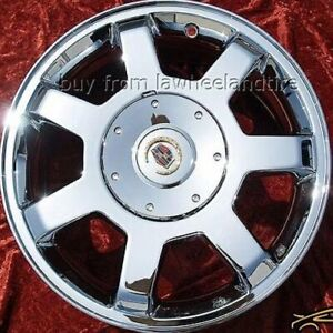 Set Of 4 Chrome 16 Cadillac Cts Oem Wheels Rims Deville Sts Dts Seville 4567