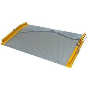 13 000 Lb Load 60 X 36 Steel Dock Board Forklift Material Ramp