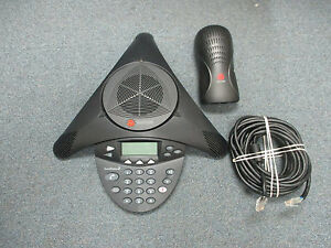 Polycom Soundstation 2 2201 16000 601 Non Expandable Display Conference Phone b