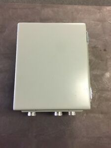 Hoffman A10086ch Electronic Enclosure With Plate