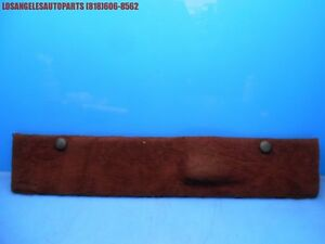 Porsche 928 S4 Gt Gts Rear Hatch Tool Kit Panel 928 551 181 06 Burgundy No Tools