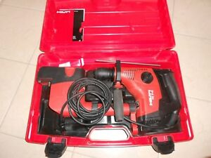 Hilti Te 7 C Rotary Drill With Drs M Dust Removal System