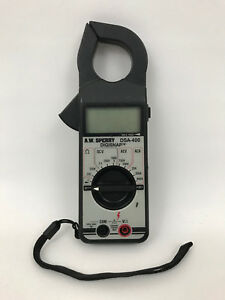 A w Sperry Dsa 400 5 function 11 range 300 ampere Digital Clamp On Multi Meter