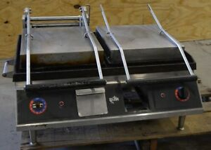 Star Iron Commercial Double Panini Press Sandwich Grill