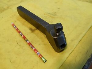 No 3 L Engine Lathe Tool Holder Metal Turning Holds 1 2 Sq Bit
