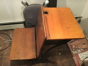 Old School Chair Youth Student Desk Furniture No Shipping Pick Up Only