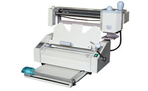 Desktop Perfect Binding Machine With Creaser perforator spliter 320mmx280mm