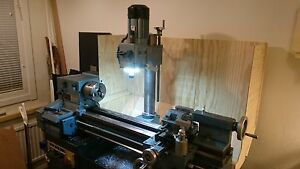 Emco Spindle Led Ring Light Magnetic Lathe Mill Cnc Bench Machine