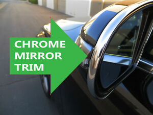 For Lincoln Models New Side Mirror Trim Chrome Molding Accent Lincoln