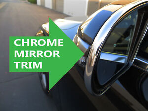 For Buick 2002 2018 New Side Mirror Trim Chrome Molding All Models