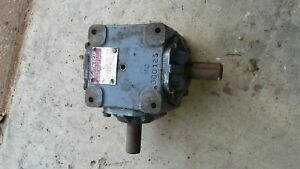 2 Right Angle Drive Gearboxes Boston Gear R1215 Type B 1 Shaft 90 Degree
