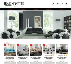 Established Profitable Furniture Turnkey Dropship Website Business For Sale