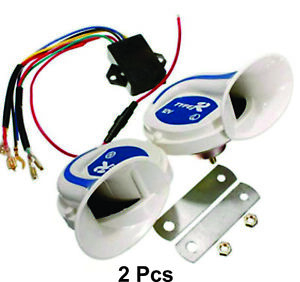 Plastic Automobile Part Car Accessory 12v Claxon Double Shell Horn Electronic