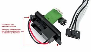 Replacement For Chevy Gmc Hvac Blower Motor Fan Resistor Kit Part 22807122