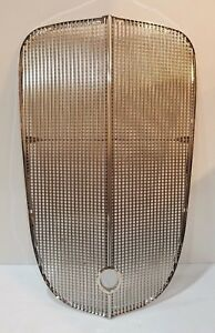 Chevrolet Chevy Gmc Truck Grille Grill Insert Assembly Stainless 1936