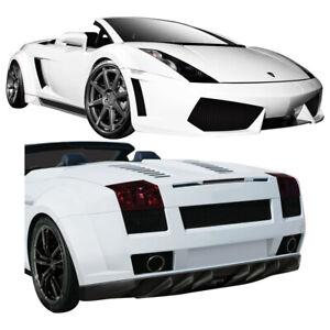 Aero Function Af 1 Wide Body Kit Gfk 9 Piece For Gallardo Lamborghini 0