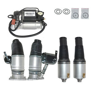Air Suspension Spring Air Compressor Pump Kits For Audi A8 D3 02 10 Diesel 10 12