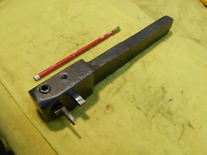 Vintage Metal Shaper Planer Tool Holder Holds 1 2 And 5 16 Bits