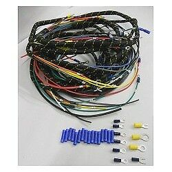 Chevrolet Chevy Gmc Truck Wiring Harness Pvc Coated 1934 1939
