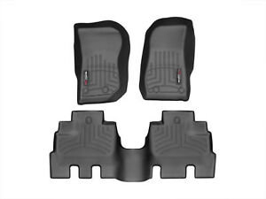 Weathertech Floorliner Mat Set For Jeep Wrangler Unlimited Jl 2018 2019 Black