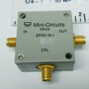 Zfdc 10 1 Mini Circuits Directional Coupler Sma 3 Terminals New Old Stock