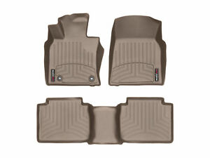 Weathertech Floorliner Floor Mats For Toyota Camry 2018 2019 Full Set In Tan