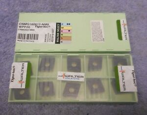 Walter Carbide Inserts Cnmg 543 nm9 Grade Wpp20 Pack Of 10