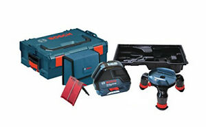 Bosch Gll3 50 Self leveling Three Line Laser With Layout Beam L boxx