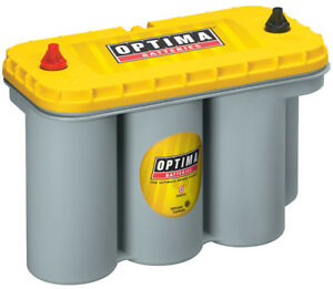 Battery Yellow Top Optima Battery 8050 160