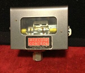 Dwyer Mercoid Control Pressure Mercury Switch 10 To 50 Inches Of Water Gauge