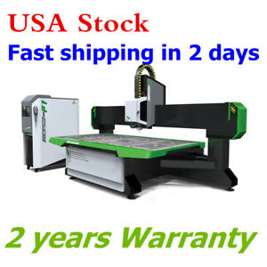 98 X 51 Cnc Router Machine Italy 9kw Spindle atc Vacuum System 2500x1300mm