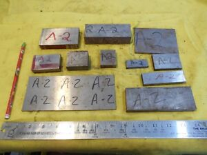 8 4 Lbs Of A 2 Tool Steel Bar Machine Tool Die Flat Stock Various Sizes