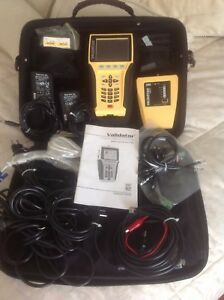 Nt 950 Validator Network Cabling Certifier Excellent Condition Full Kit