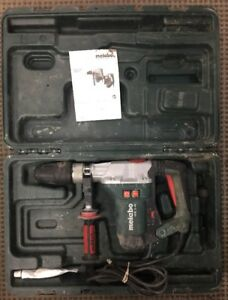 Metabo Khe 5 40 9 16 Combination Hammer Rotary Hammer Drill Sds max