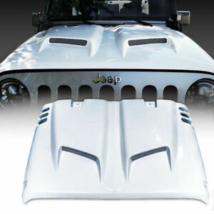Xprite Combat Series Fiber Glass Hood For 07 18 4wd Jeep Wrangler Jk Jku Sahara