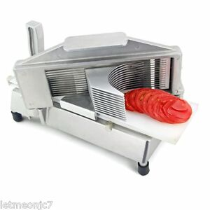 New Tomato Slicer Commercial Restaurant Grade Professional Stainless Meat Cutter