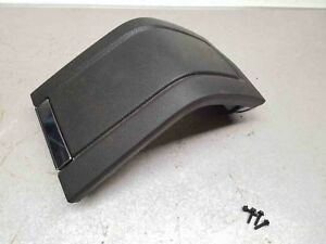 Front Console Center Arm Rest Lid Black Good Condition Ford Mustang 10 14