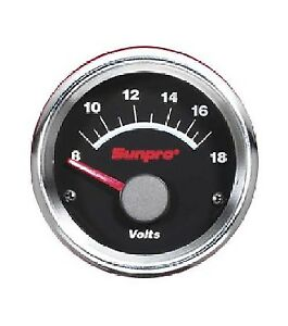 Sunpro Black Chrome Bezel 8 18 V Range Cp7107 New