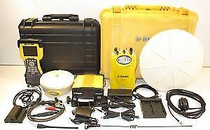 Trimble 5700 5800 l1 l2 gps rtk base rover survey setup 450 470mhz w tsc2